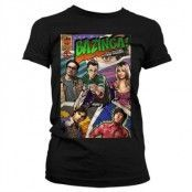 Big Bang Theory - Bazinga Comic Cover Girly T-Shirt, Girly T-Shirt