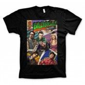 Big Bang Theory - Bazinga Comic Cover T-Shirt, Basic Tee