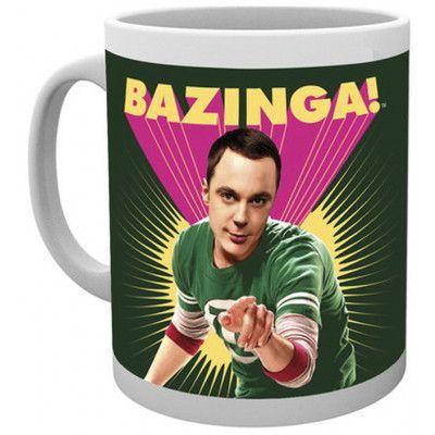 d2930d7ea224 Big Bang Theory - Bazinga Mug - Geekbutiken
