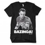 Sheldon Says BAZINGA! T-Shirt, Basic Tee