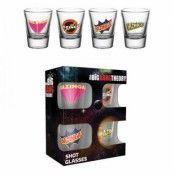 The Big Bang Theory Bazinga Shotglas