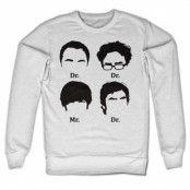 Big Bang Theory Prefix Heads Sweatshirt, Sweatshirt