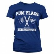 Fun With Flags Girly Tee, Girly T-Shirt