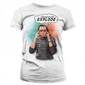 Sheldon - Your Head Will Now Explode Girly T-Shirt, Girly T-Shirt