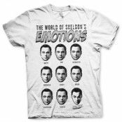 Sheldons Emotions T-Shirt, Basic Tee