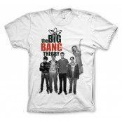 The Big Bang Theory Cast T-Shirt, Basic Tee