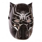 Black Panther Halvmask för Barn - One size