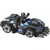 Super Hero Adventures Figure & Vehicle Black Panther