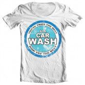 A1A Car Wash Wide Neck Tee, Wide Neck T-Shirt