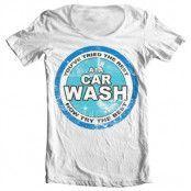 A1A Car Wash Wide Neck Tee, T-Shirt