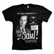 Better Call Saul T-Shirt, Basic Tee