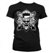 Br-Ba Heisenberg Girly T-Shirt, Girly T-Shirt