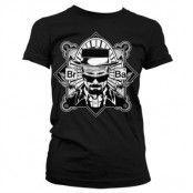 Br-Ba Heisenberg Girly T-Shirt, Girly T-Shirt