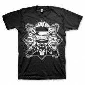 Breaking Bad Heisenberg T-Shirt  Svart