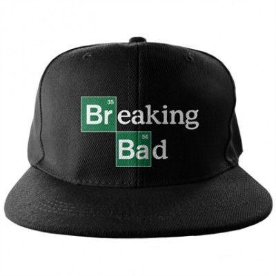 Breaking Bad Logo Snapback Cap, Adjustable Snapback Cap