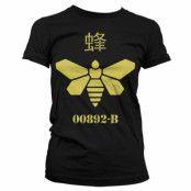 Breaking Bad Methlamine Barrel Bee Girly T-Shirt Svart