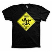 Breaking Bad - Toxic Sign T-Shirt, Basic Tee