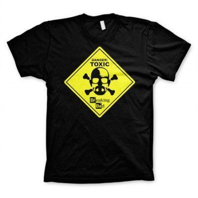 Breaking Bad - Toxic Sign T-Shirt, Basic Tee