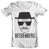 Heisenberg Sketch Wide Neck Tee, Wide Neck T-Shirt