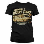 Heisenberg´s Desert Tours Girly T-Shirt, Girly Tee