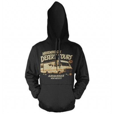 Heisenberg´s Desert Tours Hoodie, Hooded Pullover