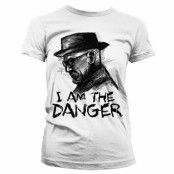 I Am The Danger Girly T-Shirt, Girly Tee