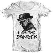 I Am The Danger Wide Neck Tee, Wide Neck Tee