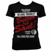 In Legal Trouble Girly T-Shirt, Girly Tee