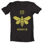 Methlamine Barrel Bee Wide Neck Tee, Wide Neck T-Shirt