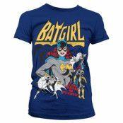 Batgirl - Hero Or Villain Girly Tee, Girly Tee