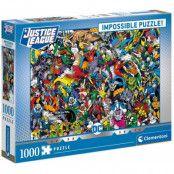 DC Comics - Justice Leage Impossible Puzzle (1000 pieces)
