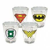 DC Comics Shotglas
