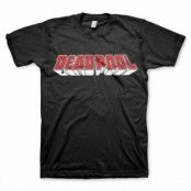 Deadpool Distressed Logo T-Shirt, Basic Tee