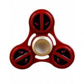 Deadpool Inspirerad Fidget Spinner i Metall