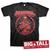 Deadpool Pose Big & Tall T-Shirt, T-Shirt