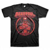 Deadpool Pose T-Shirt, T-Shirt