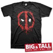 Deadpool Splash Icon Big & Tall T-Shirt, T-Shirt
