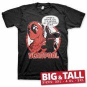 Deadpool - Sushi Big & Tall T-Shirt, Big & Tall T-Shirt