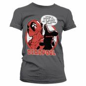 Deadpool - Sushi Girly Tee, T-Shirt