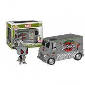 POP! Vinyl Rides - Deadpool X-Force & Chimichanga Truck