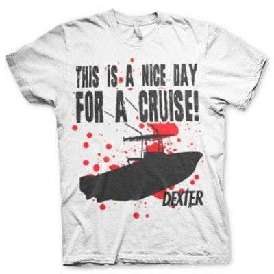 A Nice Day For A Cruise T-Shirt, Basic Tee