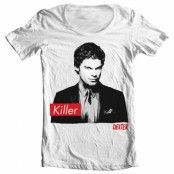 Dexter - Killer Wide Neck Tee, Wide Neck T-Shirt