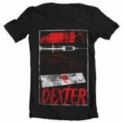 Dexter Signs Wide Neck Tee, Wide Neck T-Shirt