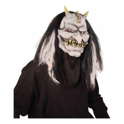 El Diablo Mask med Rörlig Käke - One size