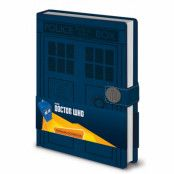 Doctor Who, Premium Anteckningsbok A5 - Tardis