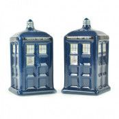 Doctor Who - Tardis Salt and Pepper Pots