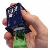 Doctor Who Tardis Talande Flasköppnare