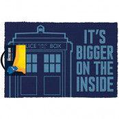 Dr Who Tardis Door Mat