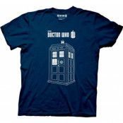 Dr Who - Tardis T-Shirt, Basic Tee