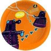 Papperstallrikar Doctor Who / Dalek 23cm - 6 st
